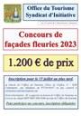 Concours de façades fleuries 2020