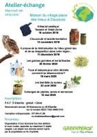 Atelier-échange : les graines germées et les tartinades