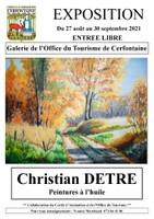 """Exposition """"Peintures à l'huile"""" de M. Christian DETRÉ"""