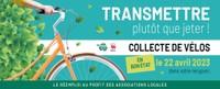 Collecte de vélos au parc à conteneurs