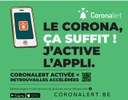 Télécharger l'application Coronalert