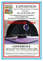 Conférence sur Napoléon 1er